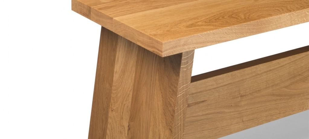 Banc Fawley - banc en bois massif design David Chipperfield - 2014 - e15 - LVC Design