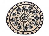 Tapis rond - Tapis tufté - Rangoli - Tapis Rangoli - Nani Marquina design Rangoli - Nanimarquina - LVC Design