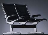 Eames Tandem Seating - ETS - Sièges sur traverse - Vitra - Siège d'attente Eames - Charles & Ray Eames - 1962 - Vitra - LVC Design