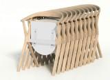 Chair B - Chaise pliante - Chair B BD Barcelona - Chaise design Konstantin Grcic - 2010 - BD Barcelona - LVC Design7