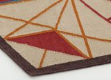 Tapis Hexa - Hexa Rug - Gan Rugs - tapis Gan - Tapis design Enblanc - GAN - LVC Design