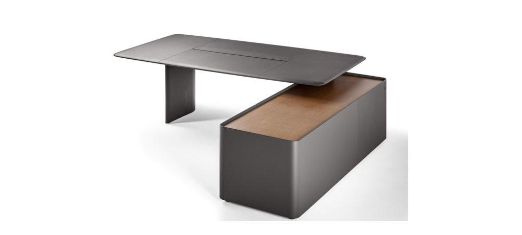 Trust Desk - Bureau Trust - Bureau Poltrona Frau - Buerau design Lievore - Altherr - Park - Trust Desk Poltrona Frau - 2018 - Poltrona Frau - LVC Design